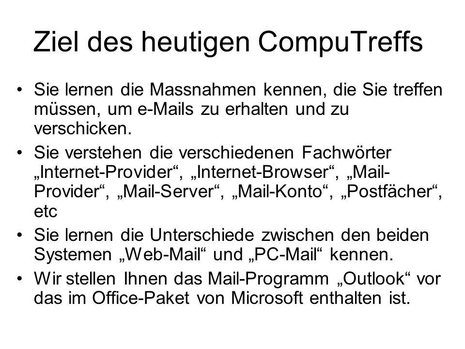 "Fortsetzung Google-Anleitung für ""Outlook 2003"