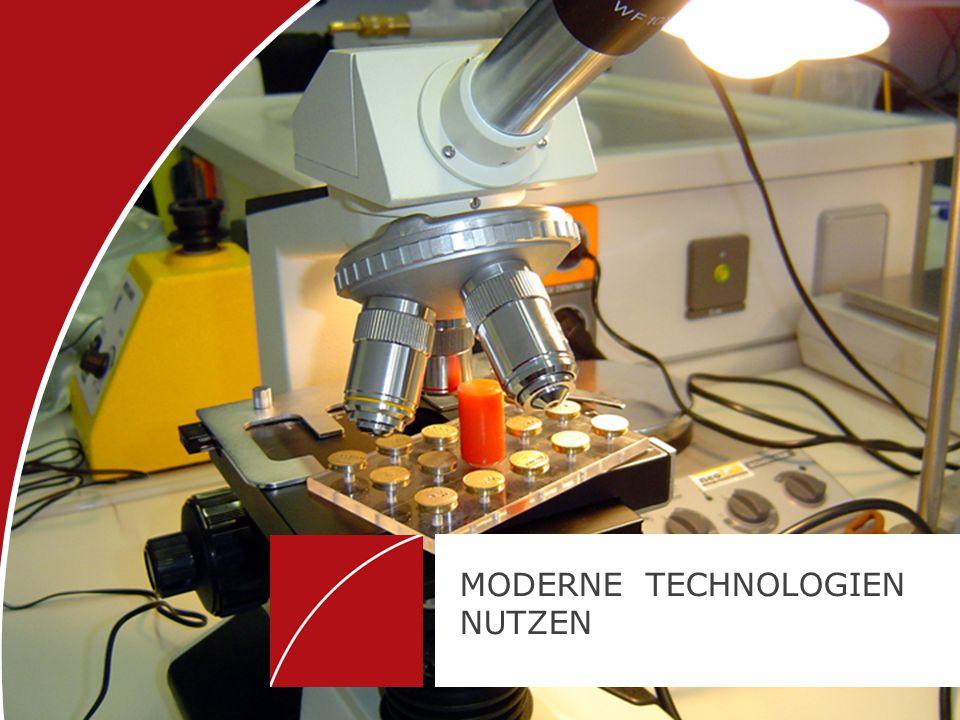 MODERNE TECHNOLOGIEN NUTZEN