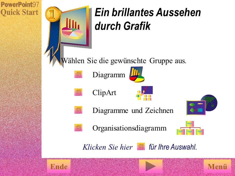 Benutzen Sie Folienfarbskala aus dem Menü Format, um Ihren Präsentationen eine einheit- liche Farbgebung zuzuweisen. Farbskala Klicken Sie die gewünsc