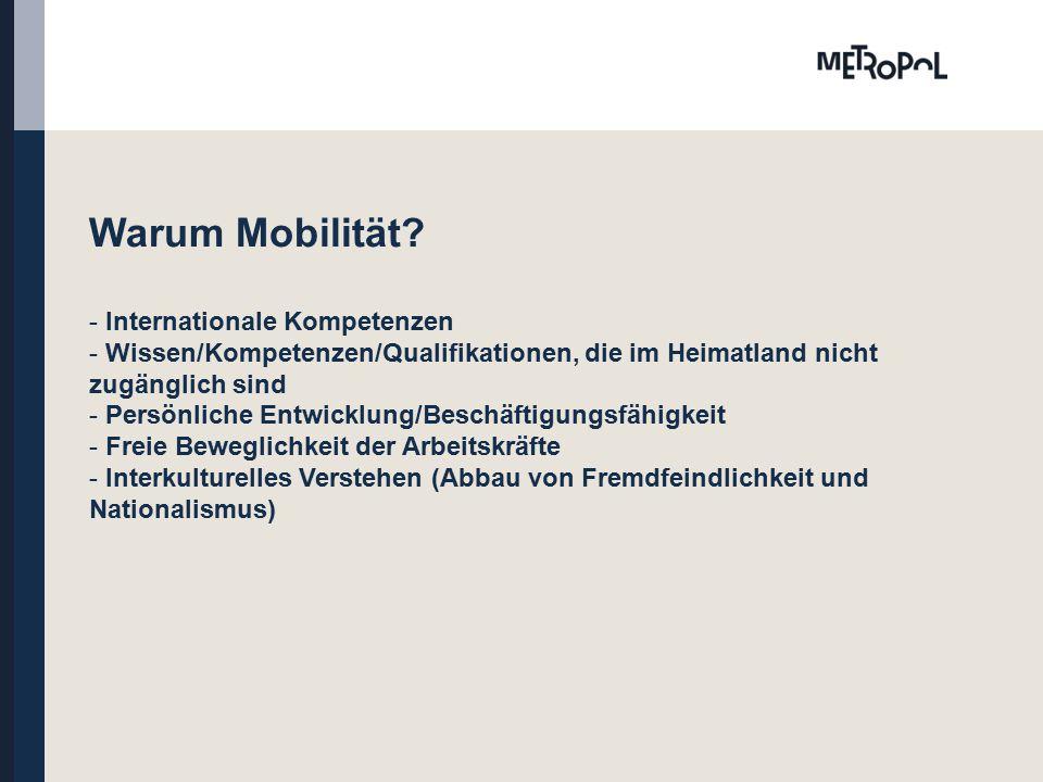 Warum Mobilität.