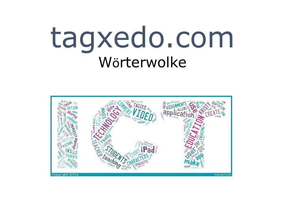 tagxedo.com W ö rterwolke