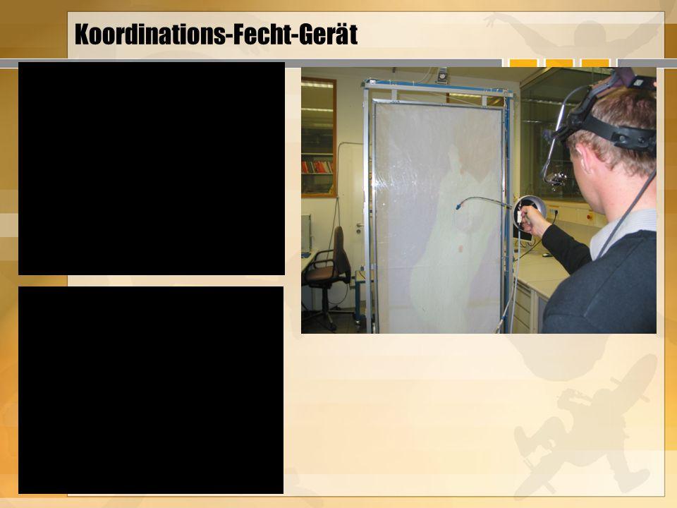 Koordinations-Fecht-Gerät