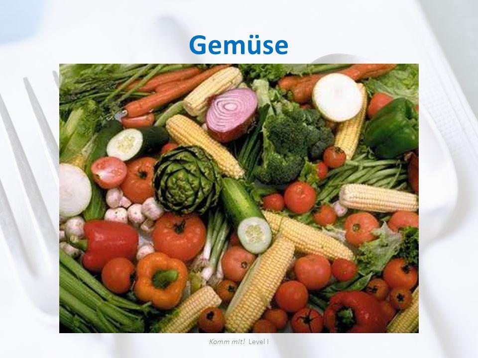 Gemüse Komm mit! Level I