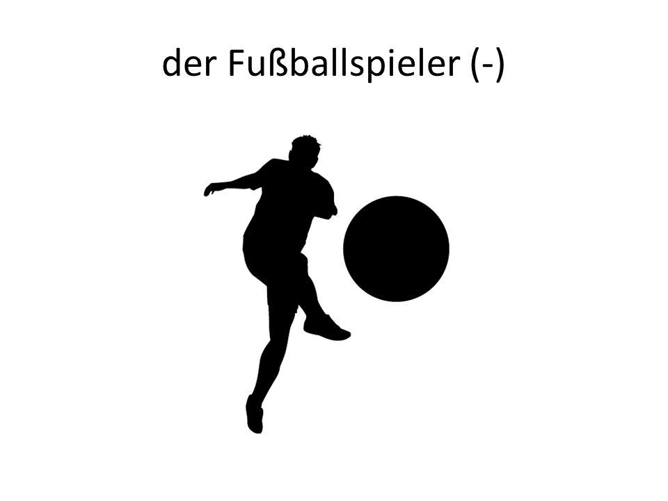 der Fußballspieler (-)