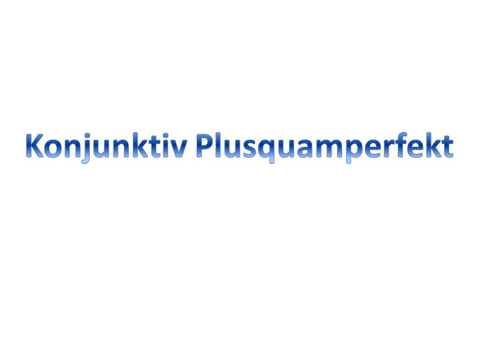 """Tipp: Gewöhnliche Bildungsweise: Perfektstamm (""""i- ) + Tempuszeichen """"-isse- + Personalendung."""
