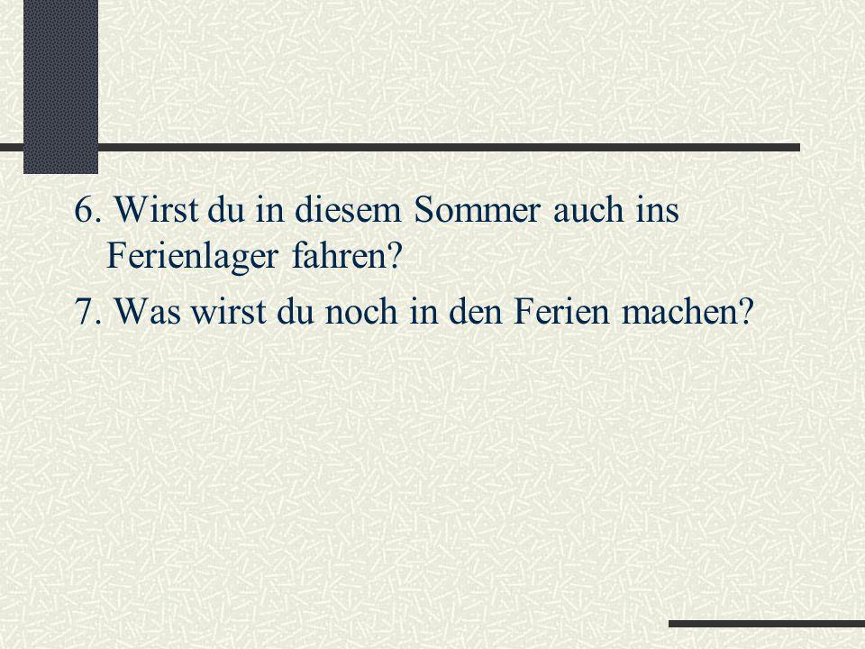 Тест Вставьте вместо точек глагол werden в нужной форме: a-werde, b-wirst, c-wird, d- werden.
