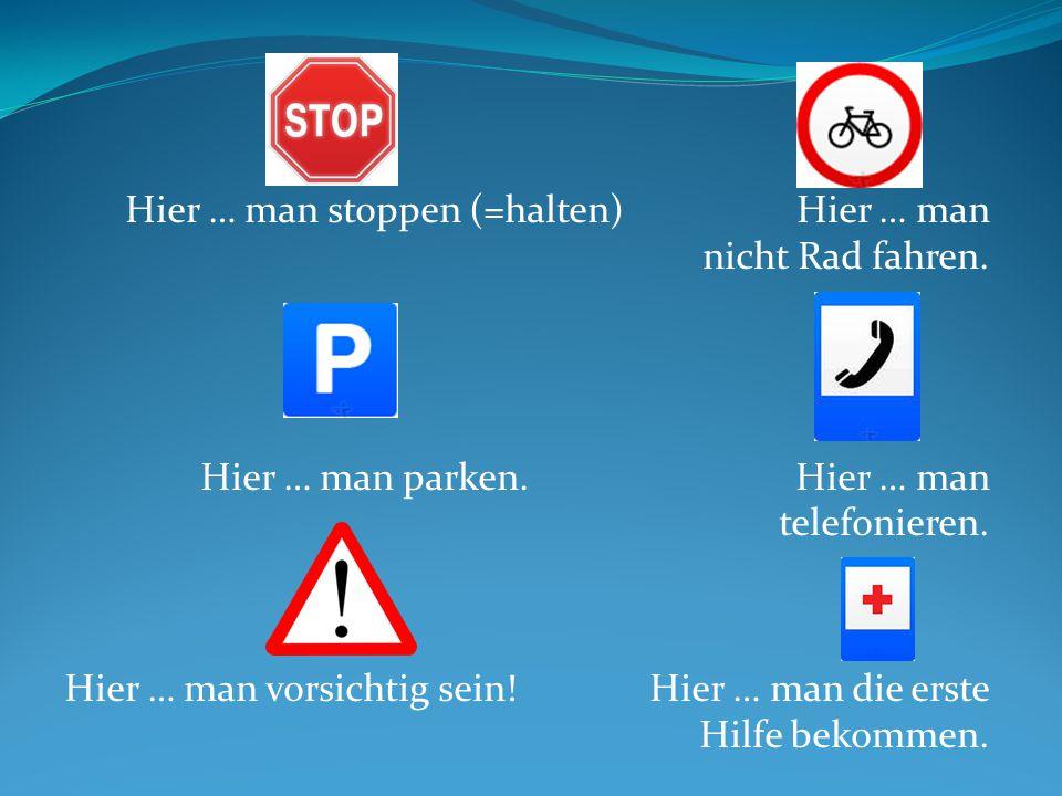 Situation 5 A – Du bist ein deutscher Tourist.