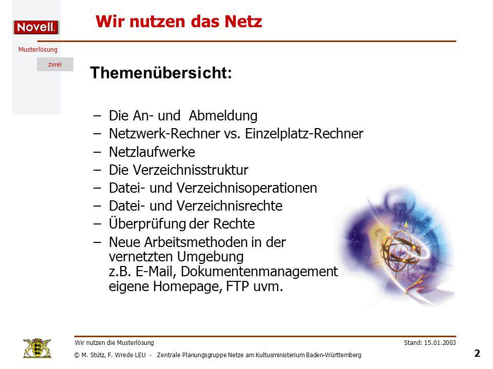 © M. Stütz, F.