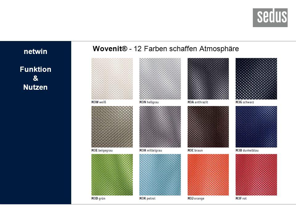 Wovenit® - 12 Farben schaffen Atmosphäre netwin Funktion & Nutzen