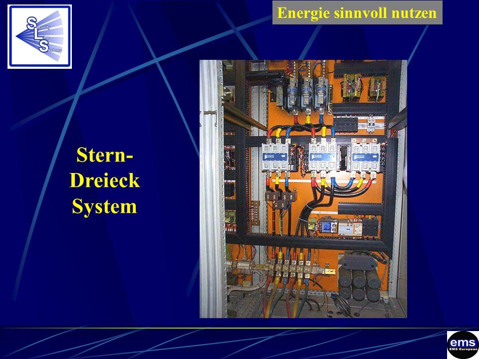 Stern- Dreieck System Energie sinnvoll nutzenES
