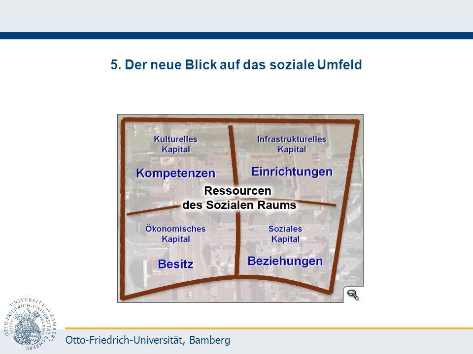 Otto-Friedrich-Universität, Bamberg 5. Der neue Blick auf das soziale Umfeld