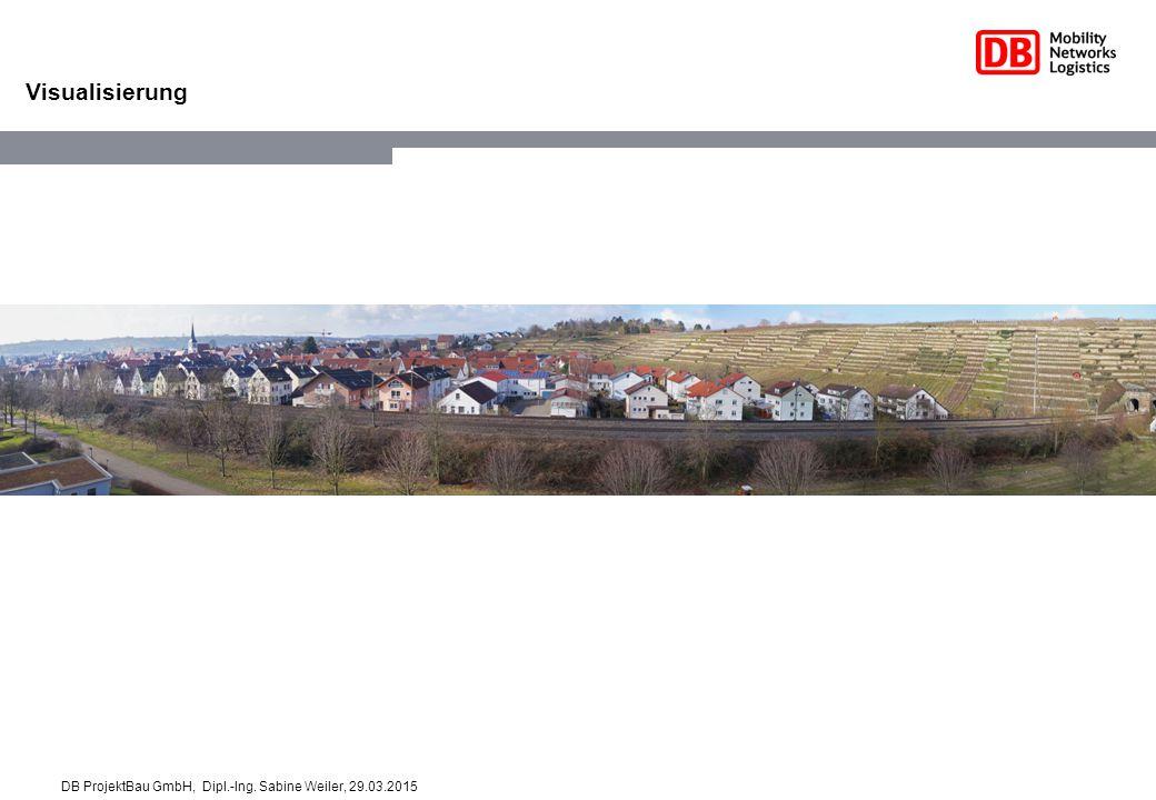 Visualisierung DB ProjektBau GmbH, Dipl.-Ing. Sabine Weiler, 29.03.2015