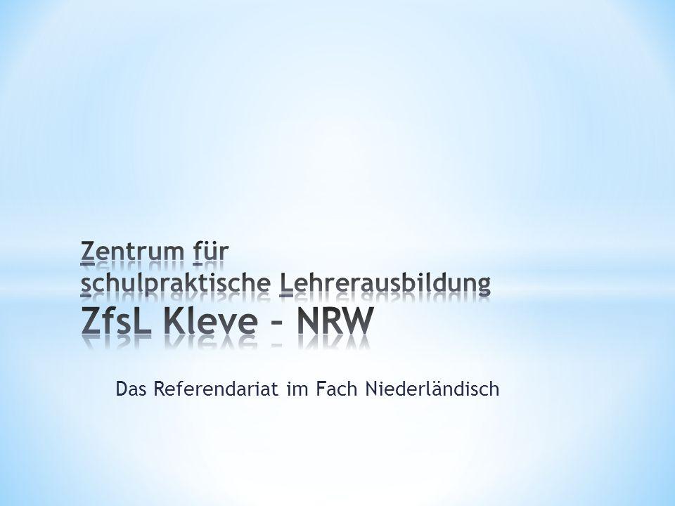 Das Referendariat im Fach Niederländisch