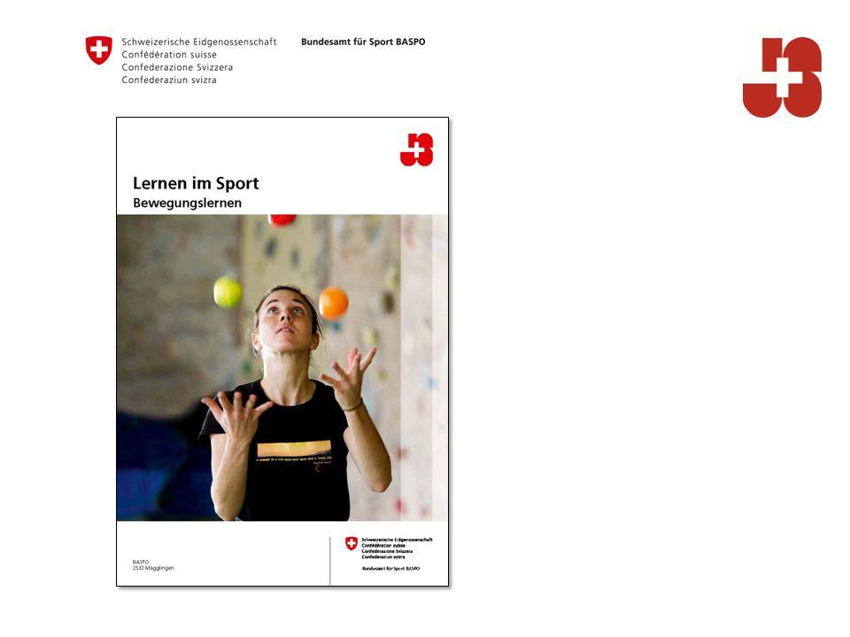 2 Bundesamt für Sport BASPO Jugend+Sport Lernen heisst selbst tun