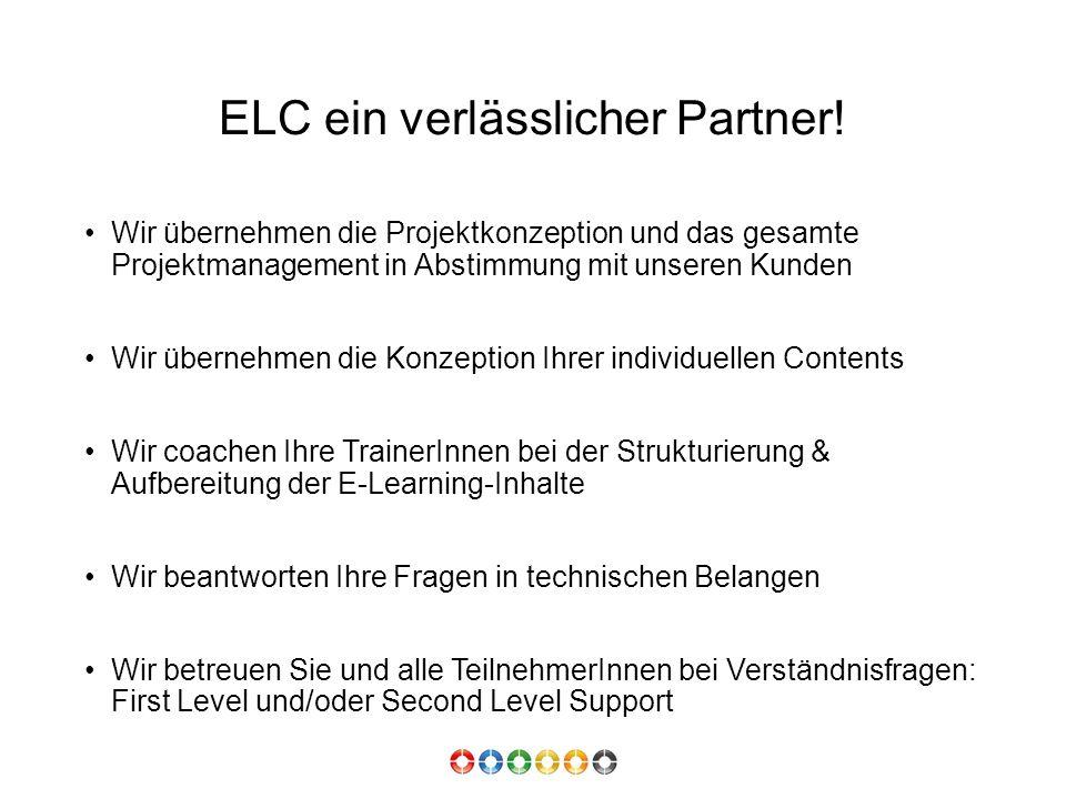 ELC ein verlässlicher Partner.