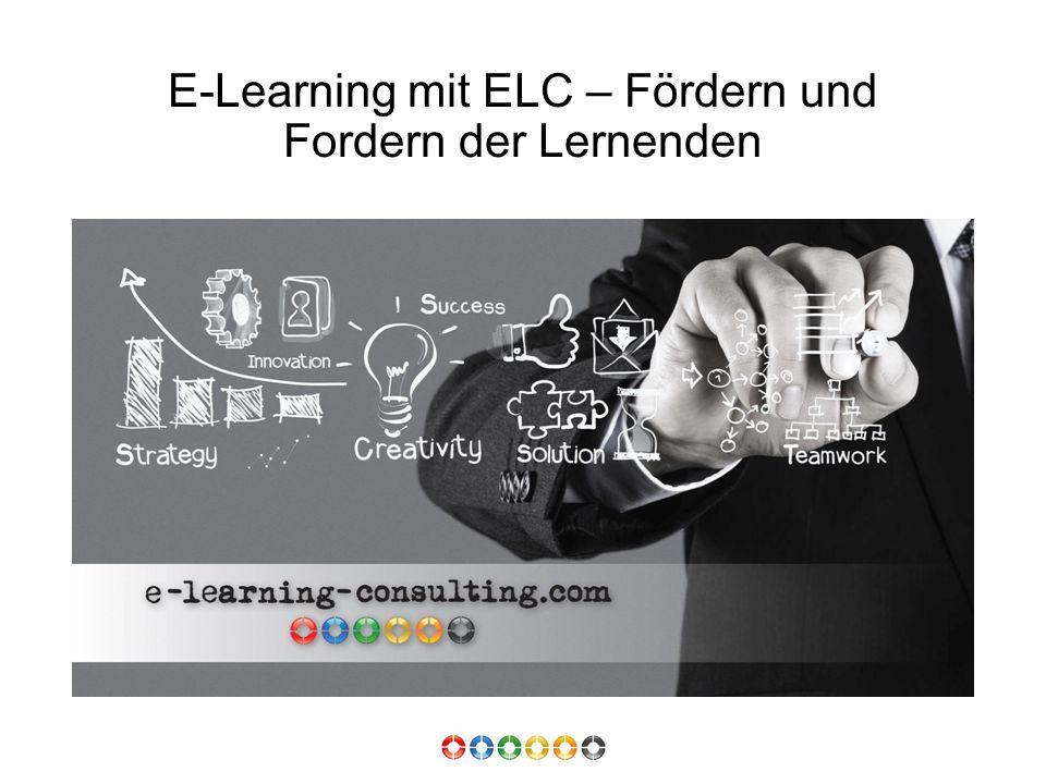 E-Learning mit ELC – Fördern und Fordern der Lernenden