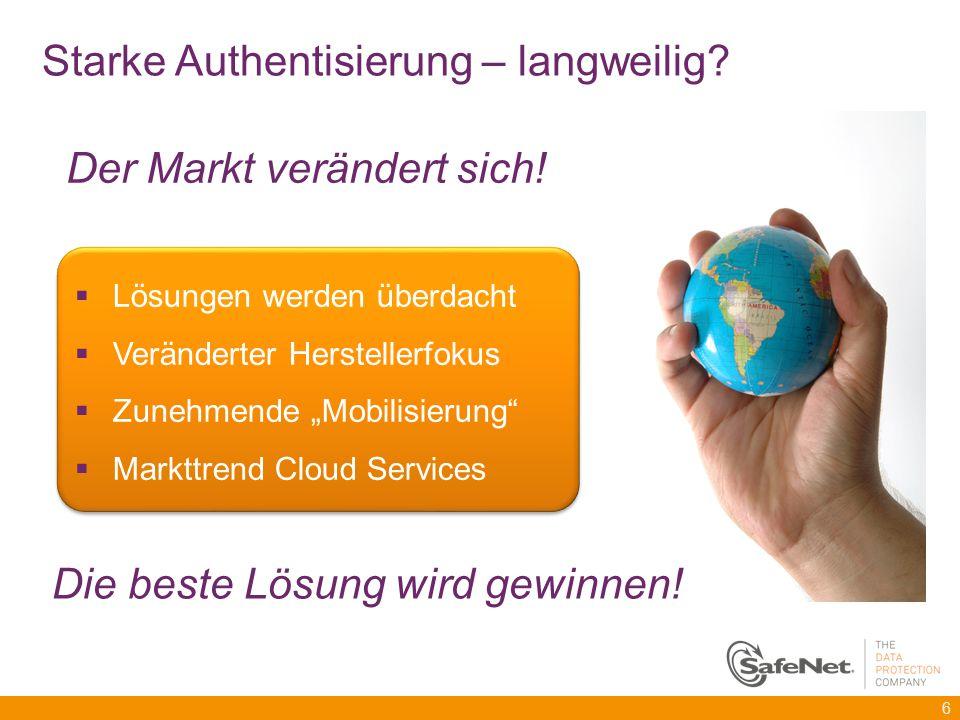 """ Lösungen werden überdacht  Veränderter Herstellerfokus  Zunehmende """"Mobilisierung""""  Markttrend Cloud Services  Lösungen werden überdacht  Verän"""
