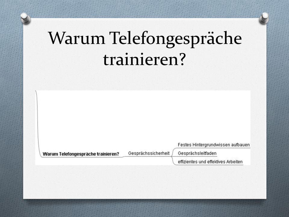 Warum Telefongespräche trainieren?
