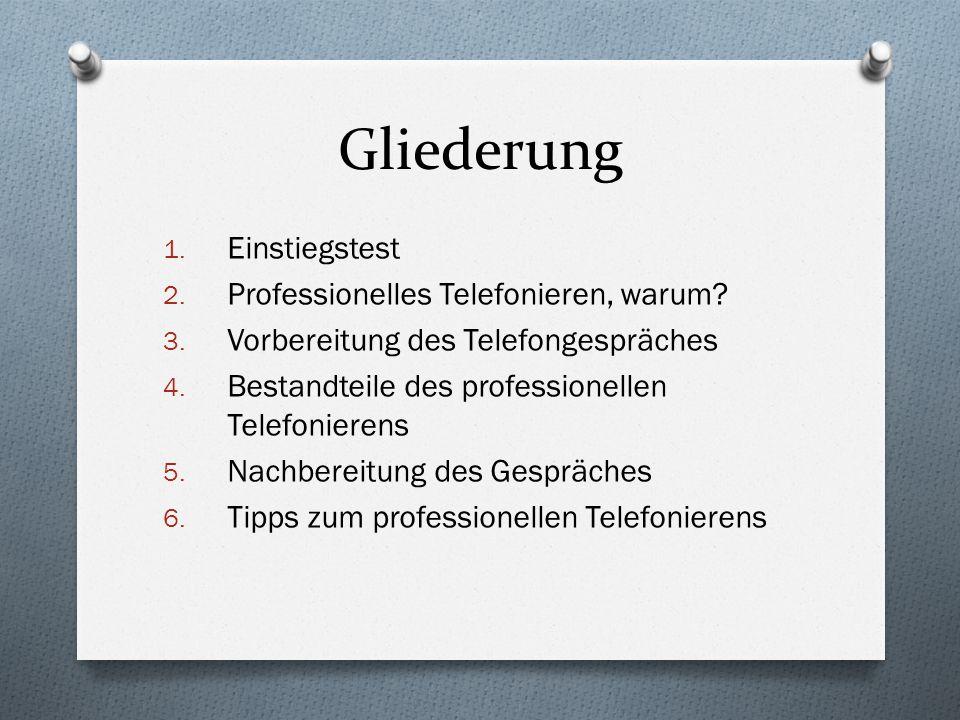 2.Professionelles Telefonieren, warum.
