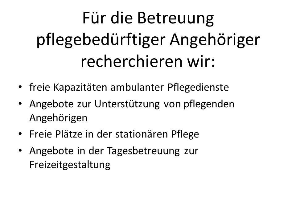 Im Alltag helfen wir durch: Wohnraumsuche in Rostock und Umgebung Organisation von Facharztterminen Vermittlung von Sucht-, Schulden-, Partnerschaftsberatung Empfehlung haushaltsnaher Dienstleister Vermittlung von Schlichtern und Fachanwälten im Streitfall Handwerker-/Notdienstvermittlung