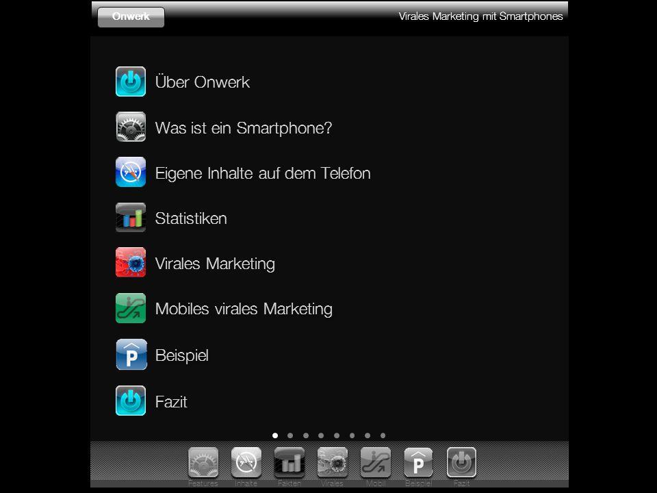 Virales Marketing mit Smartphones Onwerk Was ist ein Smartphone.