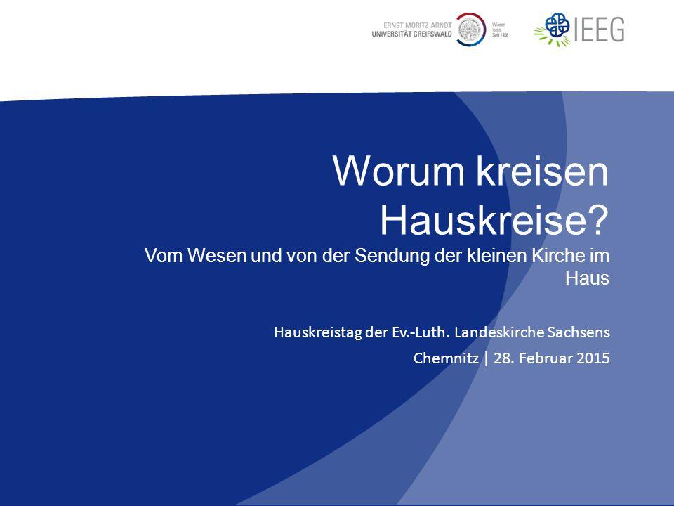 Von den Jahreszeiten im Leben Kapitel 1 Michael Herbst | IEEGHauskreistag Chemnitz | Worum kreisen Hauskreise.
