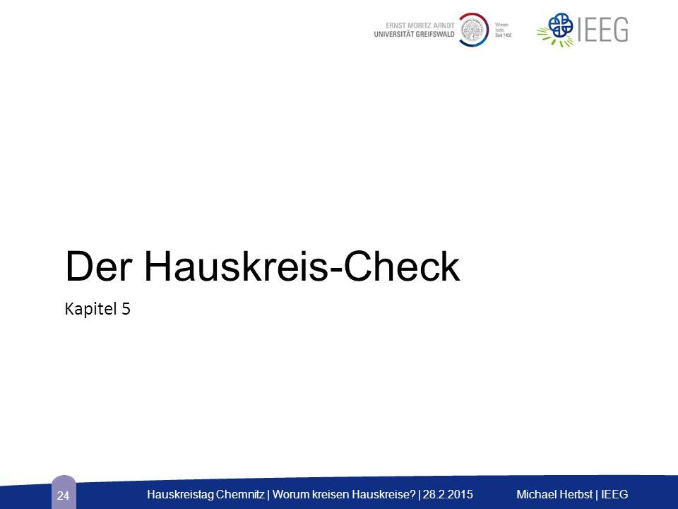 Der Hauskreis-Check Kapitel 5 Michael Herbst | IEEGHauskreistag Chemnitz | Worum kreisen Hauskreise? | 28.2.2015 24