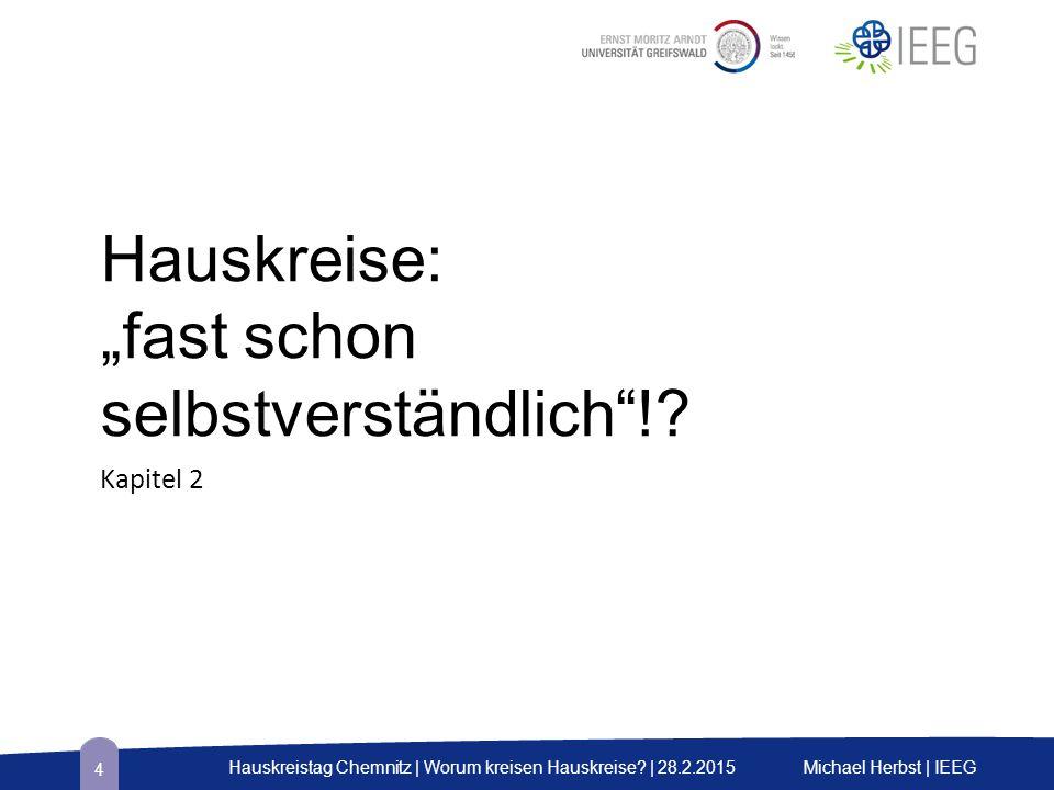 Toblerone-Prüfung Vitalitäts-Prüfung toxischhabituellgenerativ Michael Herbst | IEEGHauskreistag Chemnitz | Worum kreisen Hauskreise.