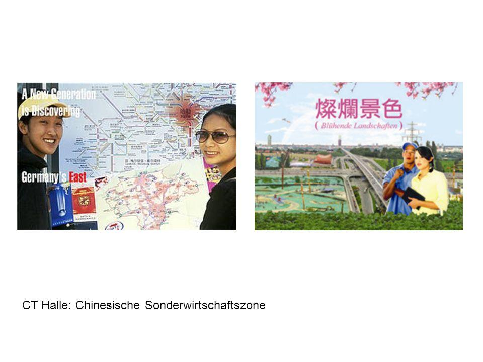 CT Halle: Chinesische Sonderwirtschaftszone