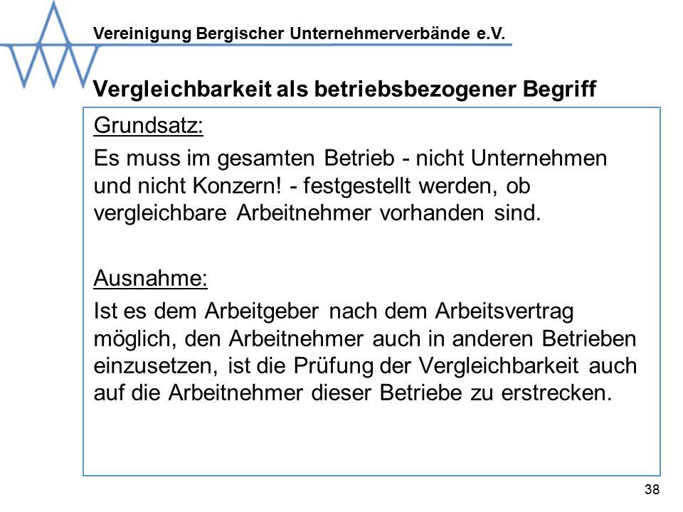 Vereinigung Bergischer Unternehmerverbände e.V.