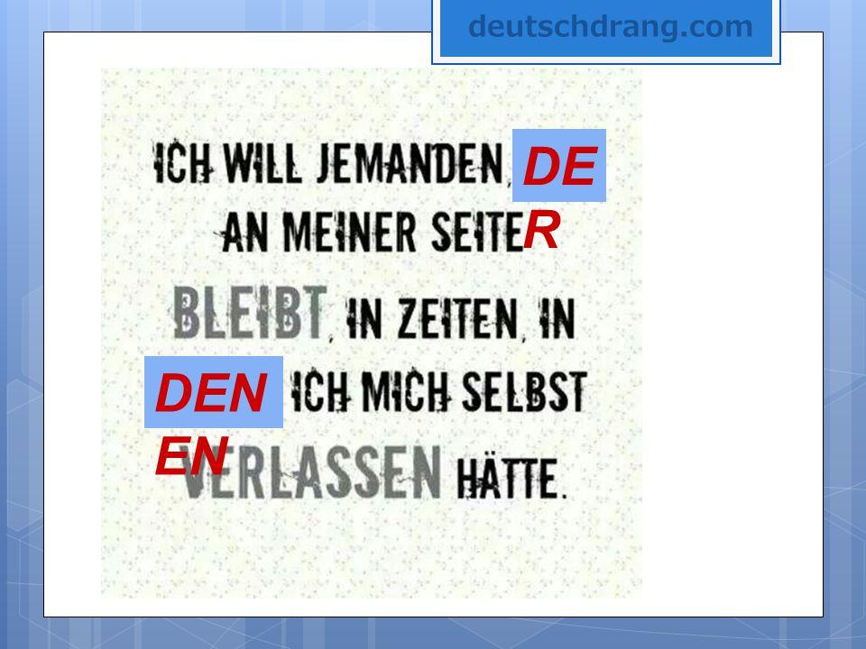 DE R DEN EN deutschdrang.com