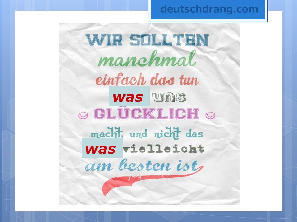 was deutschdrang.com
