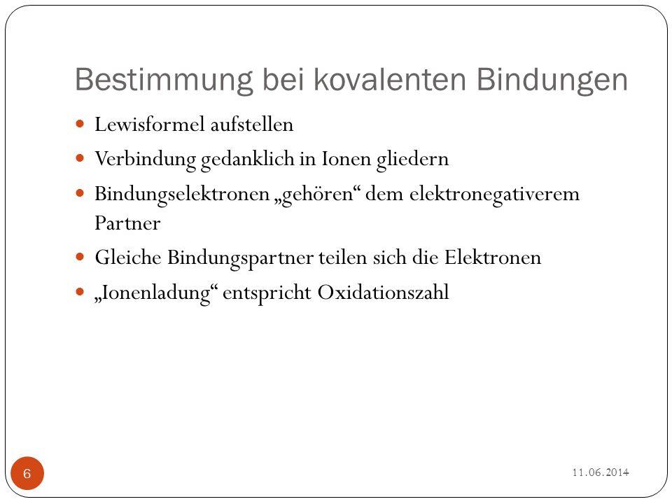 Oxidation und Reduktion Historische Definition: Oxidation: Sauerstoffaufnahme Reduktion: Sauerstoffabgabe 11.06.2014 7