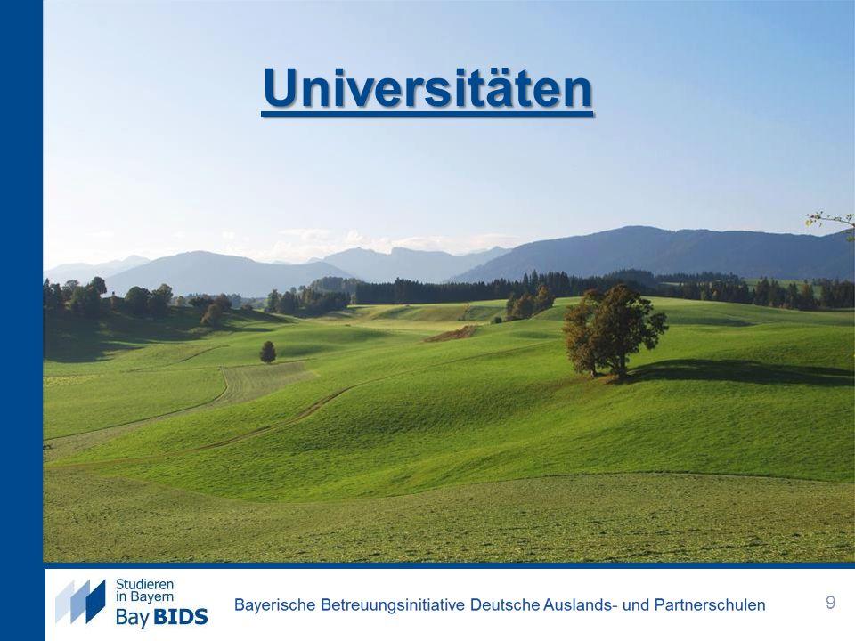 Universitäten 9