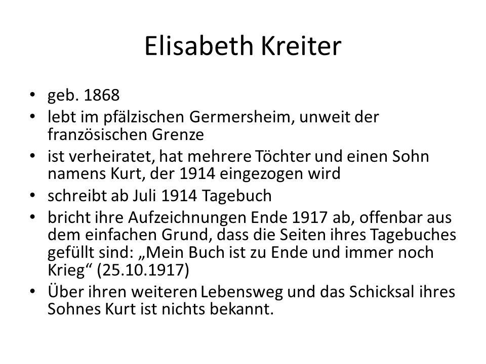 Elisabeth Kreiter geb.