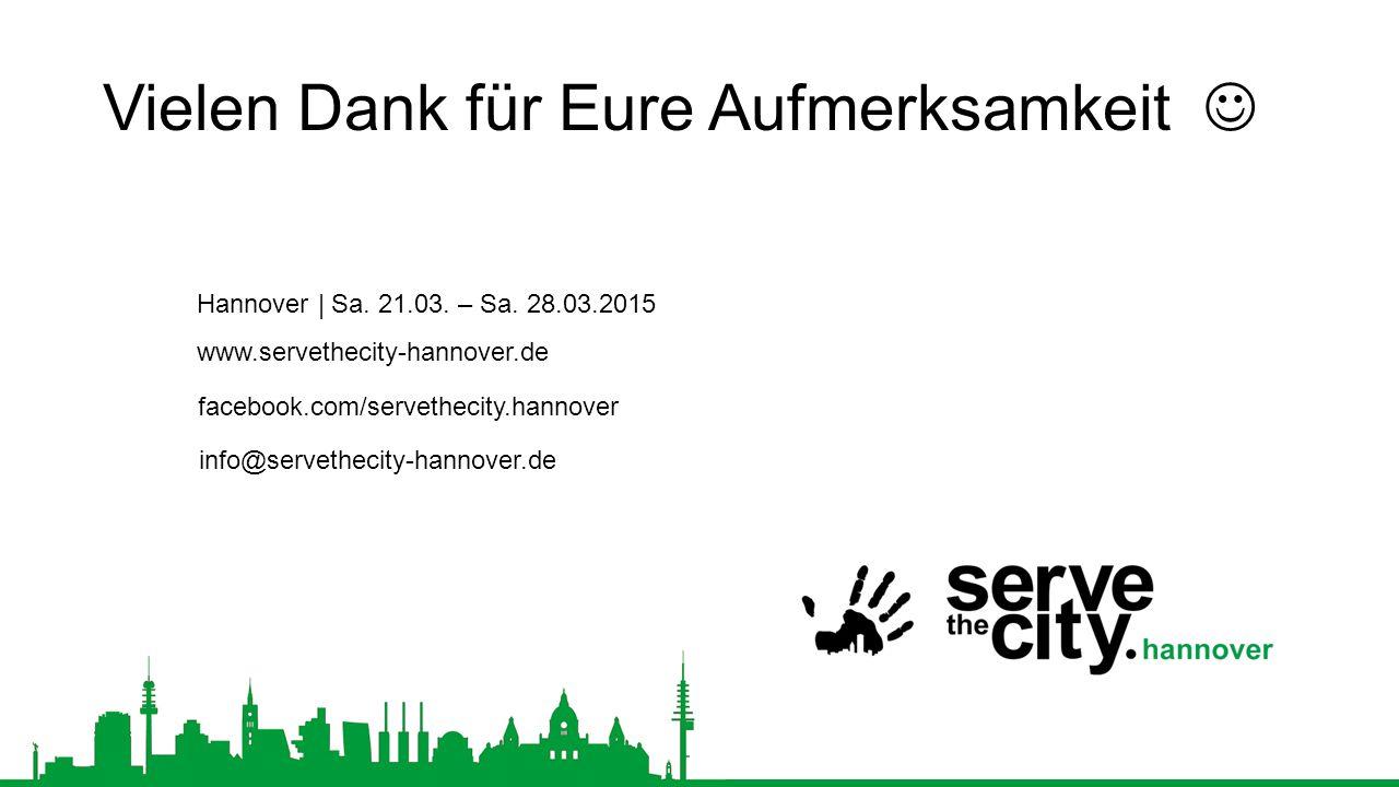 Hannover | Sa.21.03. – Sa.