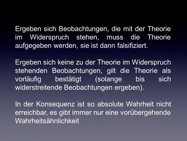 Die Struktur wissenschaftlicher Revolutionen (Kuhn) Der Wissenschaftshistoriker Kuhn stellt fest, dass wissenschaftliche Entwicklungen faktisch nicht nach dem Muster der Verifikation oder Falsifikation sich ereignet haben.