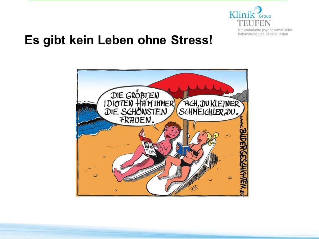 Es gibt kein Leben ohne Stress!