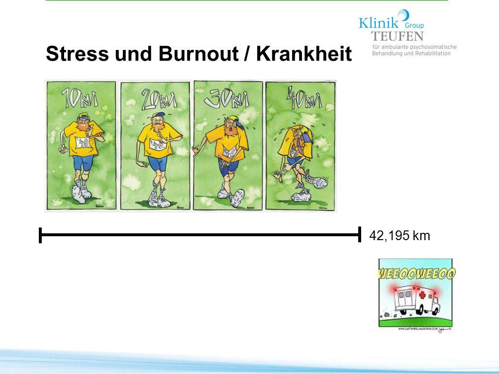 42,195 km Stress und Burnout / Krankheit