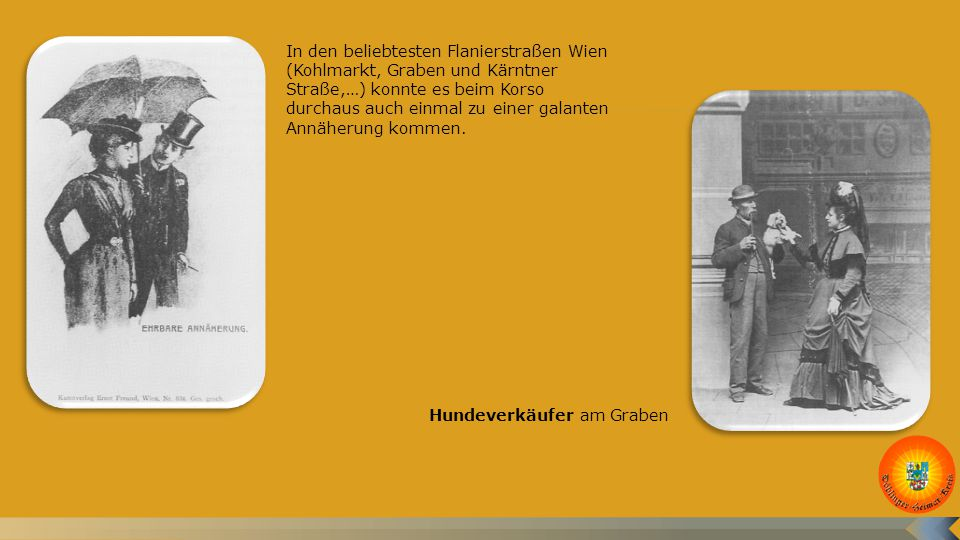 Bekannte Wiener Volkstypen waren die Wäschermädel.