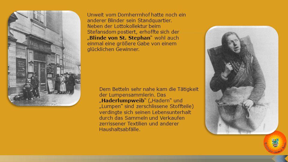 """Ein """"süßes Mädel , ein Vorstadtbursch, ein Hausherr mit Zylinder und ein Soldat: Der Heurige wurde von allen Schichten der Bevölkerung gerne besucht und bot daher auch ein entsprechendes Spektrum an """"typischen Wienern ."""