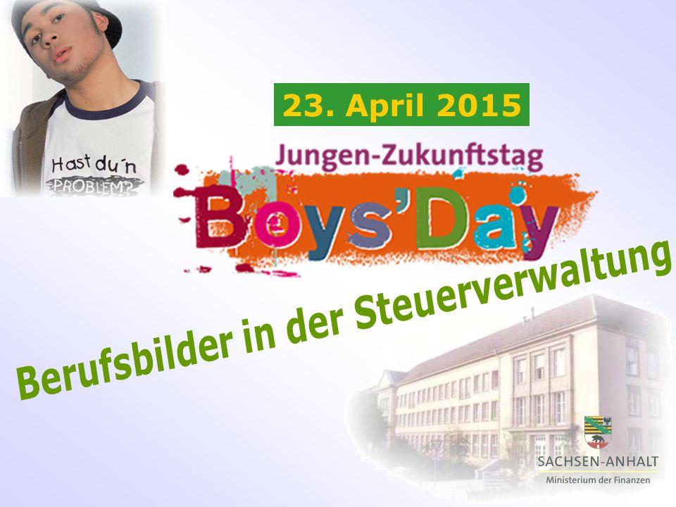 """Das Finanzministerium beteiligt sich auch in diesem Jahr am """"Boys'Day Jungen-Zukunftstag ."""
