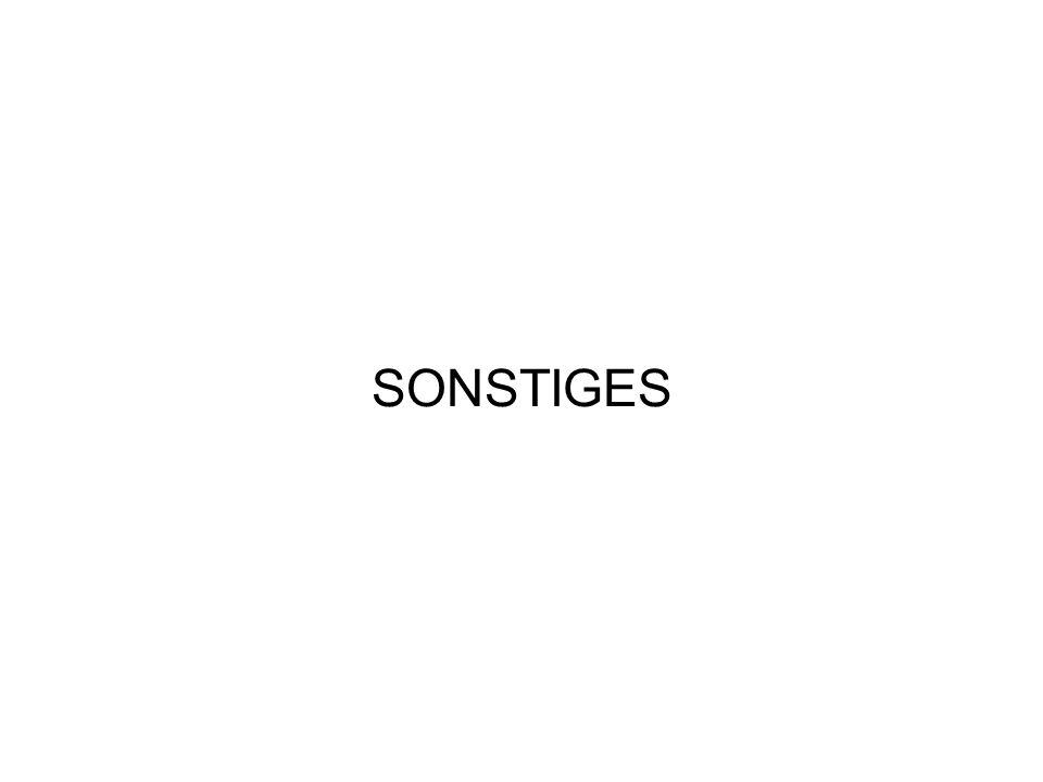 SONSTIGES