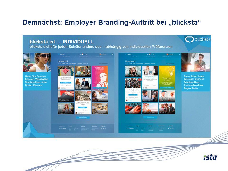 """Demnächst: Employer Branding-Auftritt bei """"blicksta"""""""