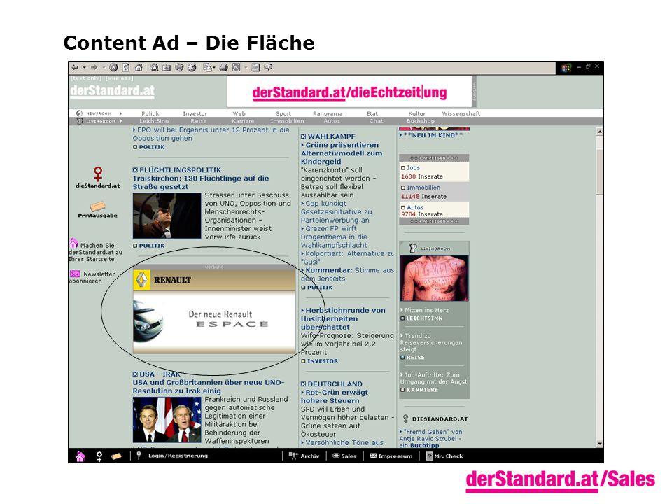 Content Ad – Die Fläche