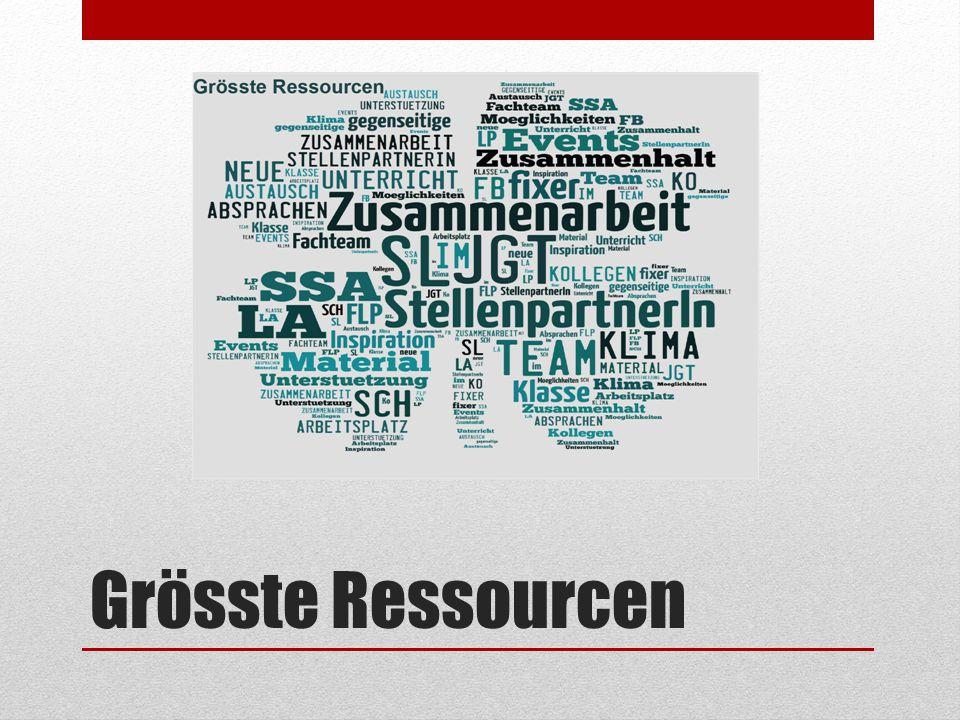 Grösste Ressourcen