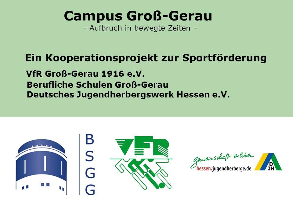 VfR Groß-Gerau 1916 e.V.Berufliche Schulen Groß-Gerau Deutsches Jugendherbergswerk Hessen e.V.