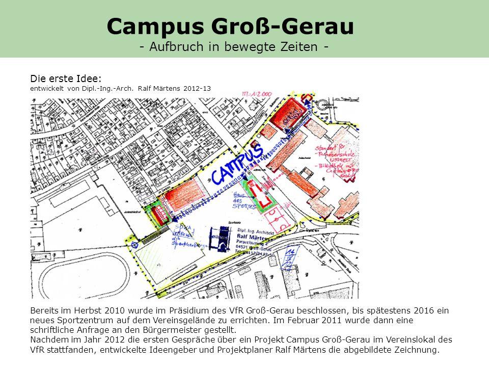 Vorteile des Campus GG (Ausarbeitung: Gerhard K.