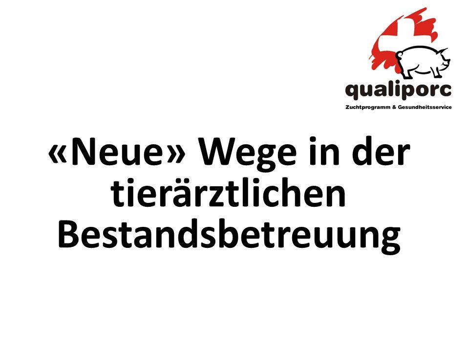 1.Qualiporc-Gesundheitsservice 2.Monitoring Zuchtbetriebe 3.Monitoring Keimspektrum/Resistenzentwicklung