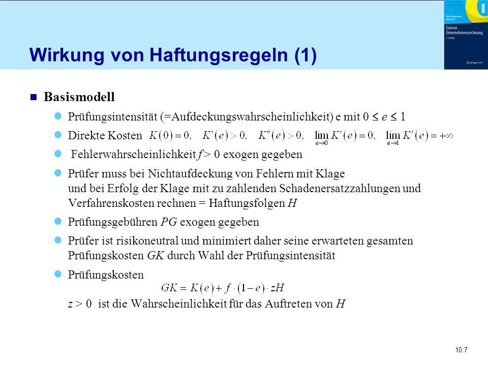 10.38 Präzise versus unpräzise GoA Beispiel (2)